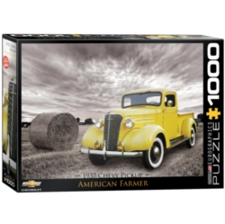 Eurographics 1937 Chevy Pickup Truck Jigsaw Puzzle