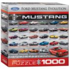 Ford Mustang Evolution 50th Anniversary (Small Box) - 1000pc Jigsaw Puzzle by Eurographics