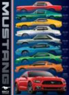 Ford Mustang 9 Model - 1000pc Jigsaw Puzzle by Eurographics