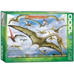 Eurographics Pterosaurs Jigsaw Puzzle