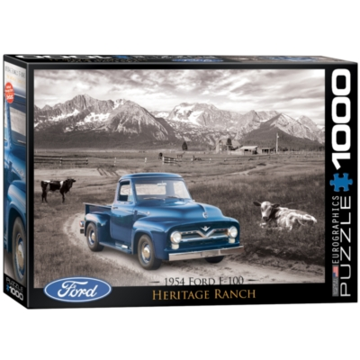Eurographics 1954 Ford F-100 Jigsaw Puzzle