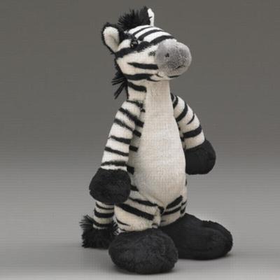 Big Foot Zebra - 10'' Zebra by Wildlife Artists