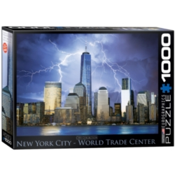 Eurographics New York World Trade Center Jigsaw Puzzle