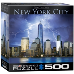 Eurographics New York World Trade Center (Small Box) Jigsaw Puzzle