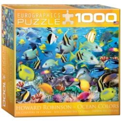 Eurographics Color Reef by Howard Robinson Jigsaw Puzzle