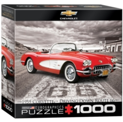 Eurographics 1959 Corvette (Small Box) Jigsaw Puzzle