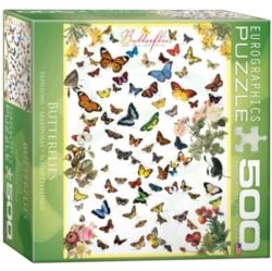 Eurographics Butterflies (Small Box) Jigsaw Puzzle