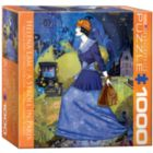 A Stroll in Paris by Helena Lam (Small Box) - 1000pc Jigsaw Puzzle by Eurographics