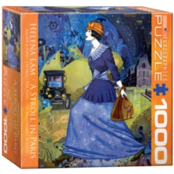 Eurographics A Stroll in Paris by Helena Lam (Small Box) Jigsaw Puzzle