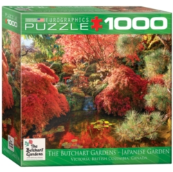 Eurographics Butchart Gardens Japanese Garden (Small Box) Jigsaw Puzzle