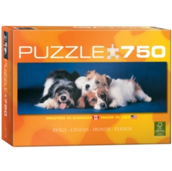 Eurographics Dogs Puzzle Jigsaw Puzzle