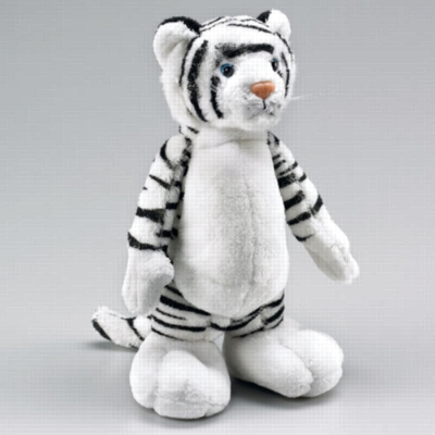 Big Foot White Tiger - 10'' Tiger by Wildlife Artists