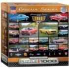 1960s Cruisin' Classics (Small Box) - 1000pc Jigsaw Puzzle by Eurographics