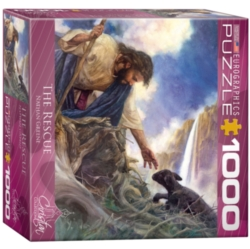 Eurographics The Rescue by Nathan Greene (Small Box) Jigsaw Puzzle