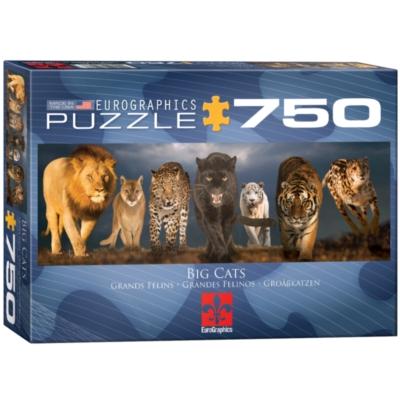 Eurographics Big Cats Jigsaw Puzzle