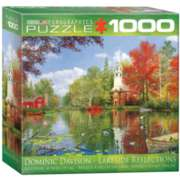 Lakeside Reflection by Dominic Davison (Small Box) - 1000pc Jigsaw Puzzle by Eurographics