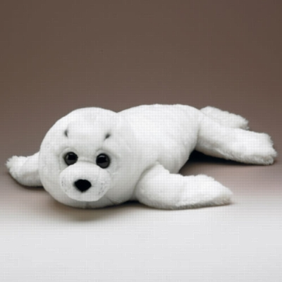 "Harp Seal Pup - 27"" Seal by Wildlife Artists"