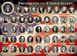Eurographics US Presidents (Small Box) Jigsaw Puzzle