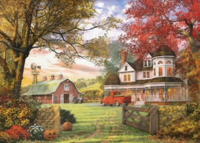 Eurographics Old Pumpkin Farm (Small Box) Jigsaw Puzzle