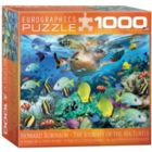 Sea Turtle Journey by Howard Robinson (Small Box) - 1000pc Jigsaw Puzzle by Eurographics