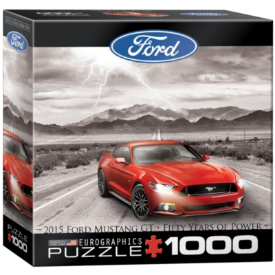 Eurographics Ford Mustang 2015 (Small Box) Jigsaw Puzzle