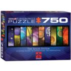 Solar System Details - 750pc Panorama Puzzle by Eurographics