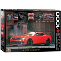 Eurographics 2015 Chevrolet Camaro Z/28: A Star is Reborn Jigsaw Puzzle