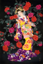 Eurographics Haruyo Morita Tsubaki Jigsaw Puzzle