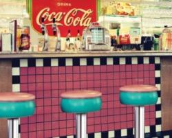 Springbok Coca-Cola Soda Shop Jigsaw Puzzle