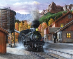 Springbok Mountain Express Jigsaw Puzzle
