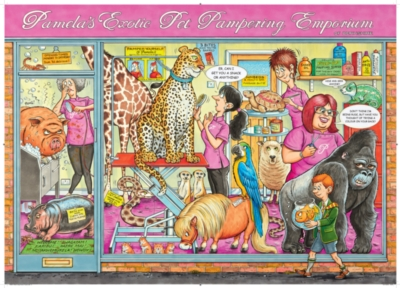Ravensburger The Pet Parlour Jigsaw Puzzle