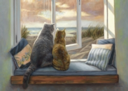 Ravensburger Window Buddies Large Format Jigsaw Puzzle