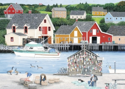 Ravensburger Fisherman's Cove Jigsaw Puzzle