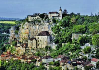 Ravensburger Mountainside Village Jigsaw Puzzle