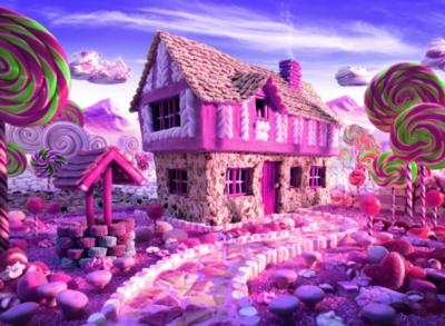 Ravensburger Candy Cottage Jigsaw Puzzle