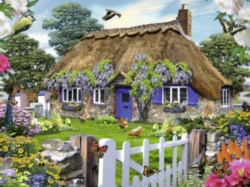 Ravensburger Cottage in England Jigsaw Puzzle