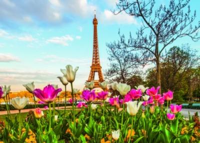 Ravensburger Eiffel Tulips Jigsaw Puzzle
