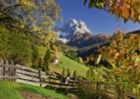 Mountains in Autumn - 1000pc Jigsaw Puzzle by Ravensburger