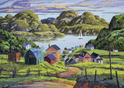 Ravensburger A Lake in Charlevoix Jigsaw Puzzle