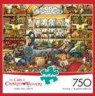 Charles Wysocki Cats: Elmer and Loretta - 750pc Jigsaw Puzzle by Buffalo Games