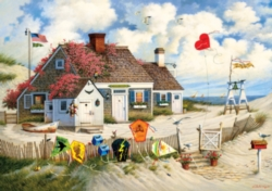 Buffalo Games Rootbeer Break by Charles Wysocki Jigsaw Puzzle