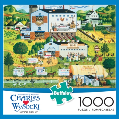 Buffalo Games Sunny Side Up by Charles Wysocki Jigsaw Puzzle