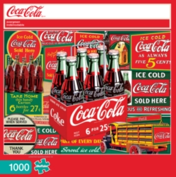 Buffalo Games Coca-Cola: Evergreen Jigsaw Puzzle
