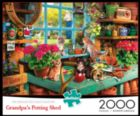 Grandpa's Shed - 2000pc Jigsaw Puzzle by Buffalo Games