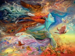 Buffalo Games Spirit of Flight by Josephine Wall Jigsaw Puzzle