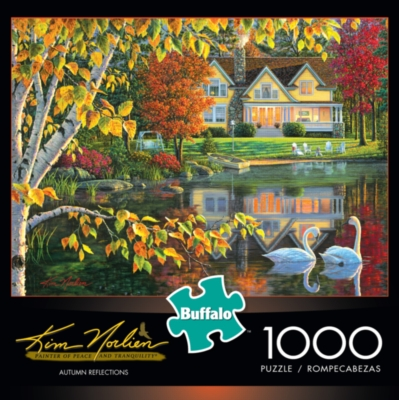 Buffalo Games Autumn Reflections by Kim Norlien Jigsaw Puzzle