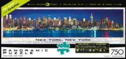 Buffalo Games NY Glow in the Dark Panoramic Jigsaw Puzzle