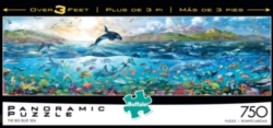 Buffalo Games The Big Blue Sea Panoramic Jigsaw Puzzle