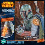 Buffalo Games Star Wars: Boba Fett Photomosaic Jigsaw Puzzle