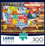 Buffalo Games Road Trip USA Jigsaw Puzzle